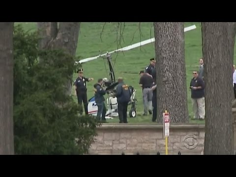 Helicopter lands on Capitol Lawn undetected by NORAD and Capitol Police