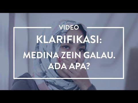 Video Klarifikasi: Medina Zein Galau. ADA APA???