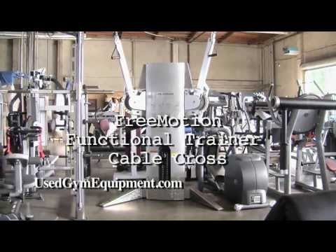 Used FreeMotion Functional Trainer Cable Cross Circuit Machine For Sale