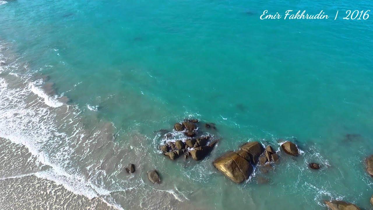 Pantai Tanjung Pesona Sungailiat Bangka Youtube
