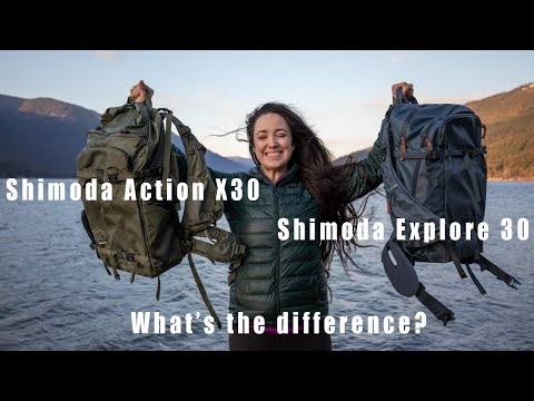 SHIMODA Action X30 VS Explore 30 - What is the difference?