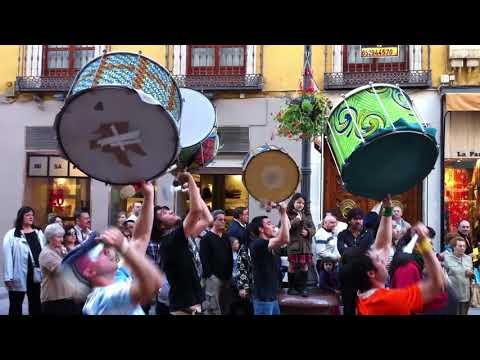Troko Bloco en Acampada Zaragoza