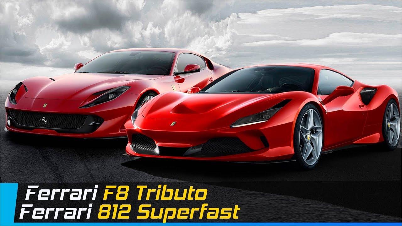 Ferrari F8 Tributo Vs Ferrari 812 Superfast Design