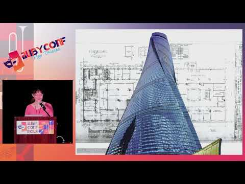 "RubyConf 2017: Set Design: Putting the ""Art"" in ""Architecture"" by Betsy Haibel"