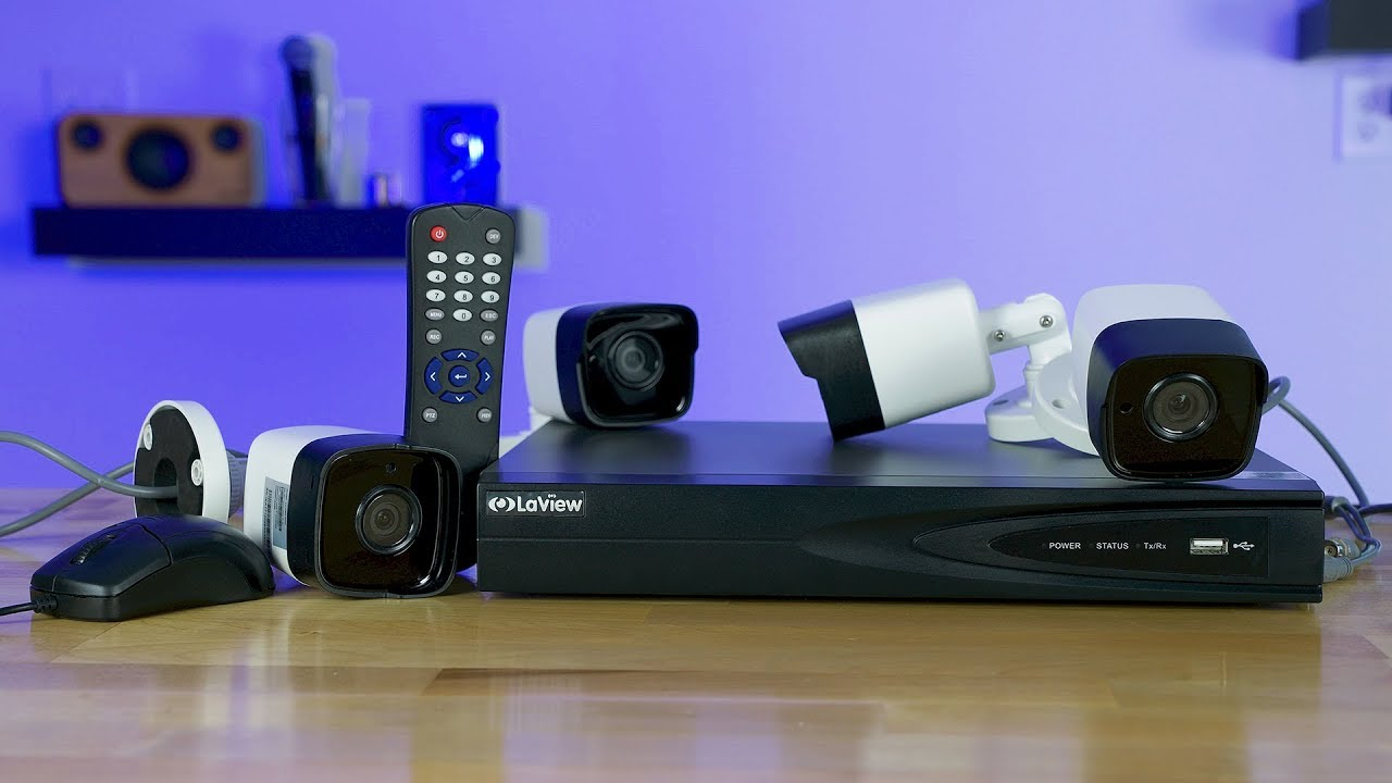 Laview 5mp Security Camera Dvr System Review Youtube