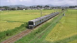 JR水戸線 2020/09/08 E501系基本編成の郡山総合車両センター入場ほか