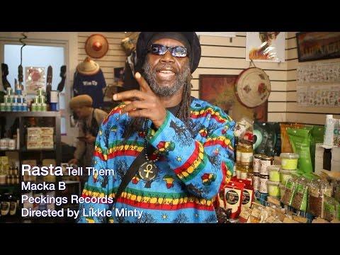 Macka B - RASTA TELL THEM(Official Music Video)