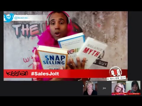 Sell #LikeAGirl: Why Women Rock Sales - The WORD 5: A Jolt of Sales 411 w/ Keenan