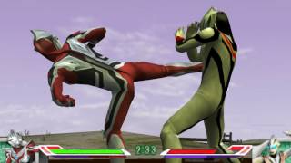 ufe 0 mod ultraman nexus junis red HD vs evil tiga HD