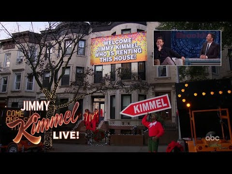 John Krasinski Pranks Jimmy Kimmel in Brooklyn