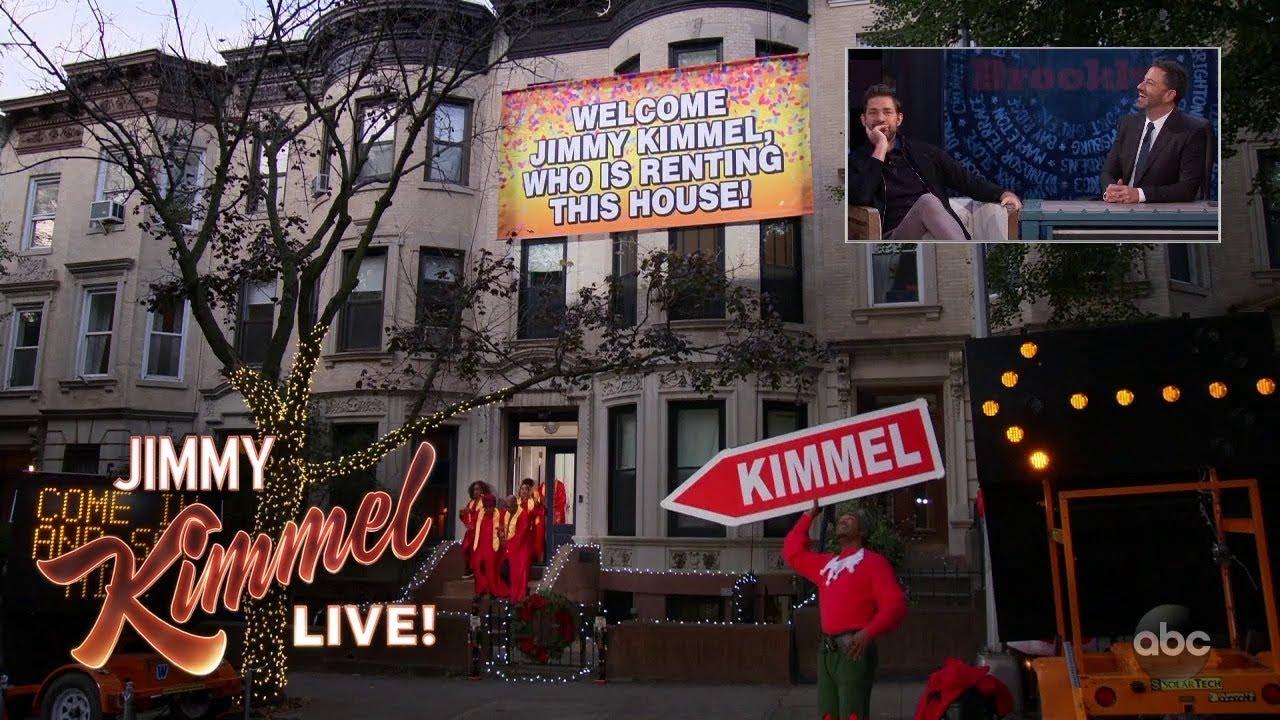 John Krasinski Continues to Prank Jimmy Kimmel