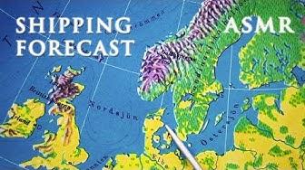 ASMR Shipping Forecast | Deep Voice Reading in Swedish | Svenska Sjörapporten