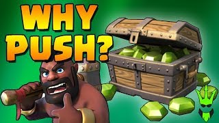 WHY SHOULD YOU PUSH? - TH9 Push to Champs for FREE GEMS! - Clash of Clans - Town Hall 9 Loonion