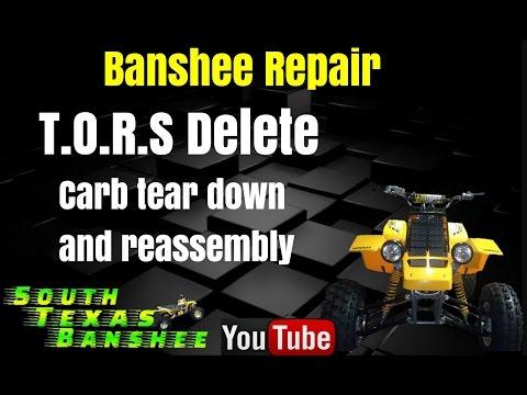 Yamaha Banshee 2 into 1 Carb Kit - Test Flight #1 35mm