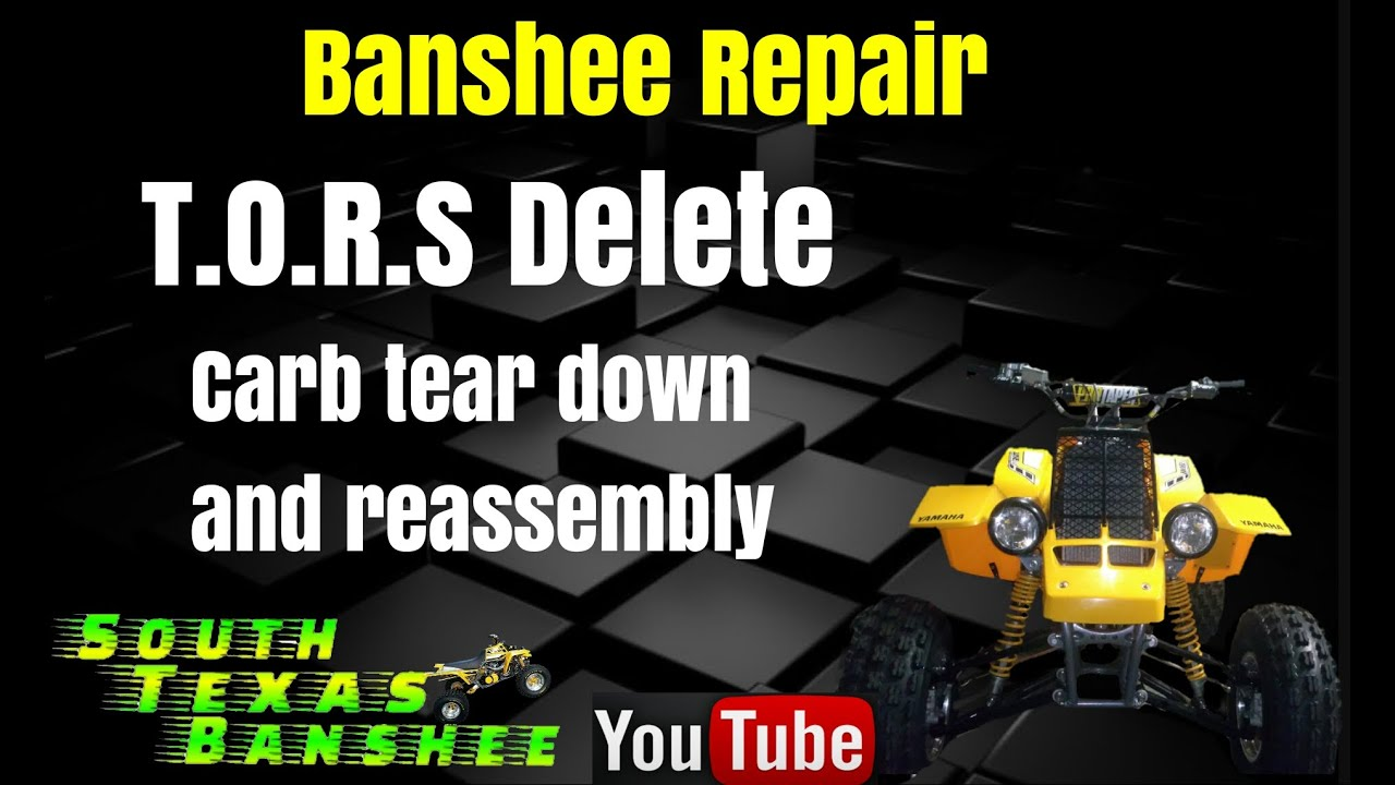 small resolution of banshee tors delete walk through toc in description youtube rh youtube com banshee wiring harness diagram yamaha grizzly 600 wiring diagram