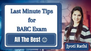How to attempt BARC exam| Last minute tips for BARC Exam| Points to remember| Documents| Admit card