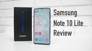 Samsung Galaxy Note 10 Lite Review with Pros & Cons