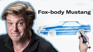 What if Carroll Shelby designed the Fox-body Mustang? | Chip Foose Draws A Car - Ep. 19