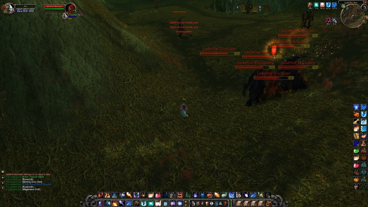 Best Place To Farm Felcloth Wow Classic Youtube
