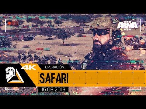 OPERACIÓN SAFARI - ARMA3 3rd SFG(A) - SQUAD ALPHA - DIABLO HELMETCAM