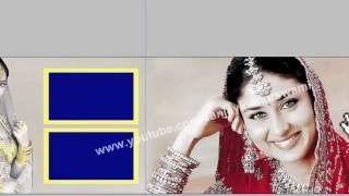 Golden & Red color effect Wedding album (Hindi) #07