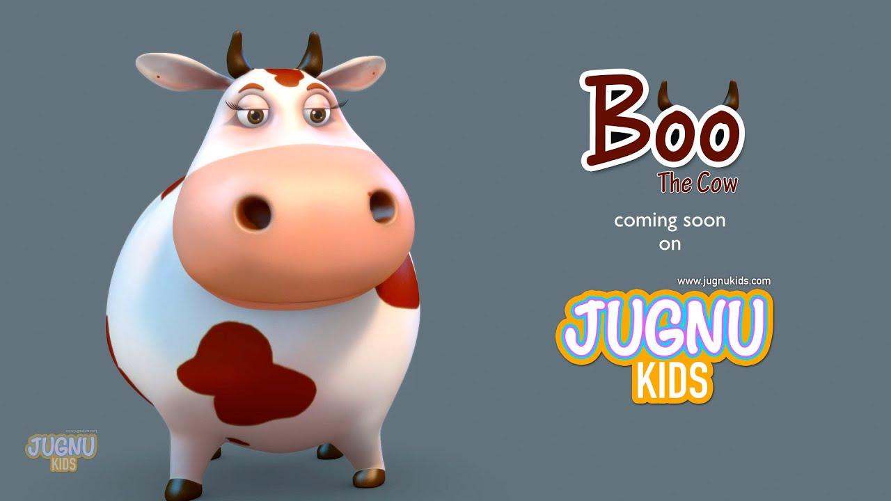 funny cow video for children Jugnu Kids