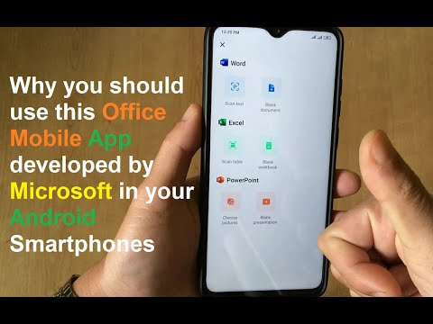 Why You Should Use This Office Mobile App Developed By Microsoft In Your Android Smartphones