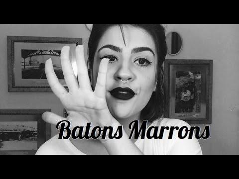 5 BATONS MARRONS/NUDES PREFERIDOS