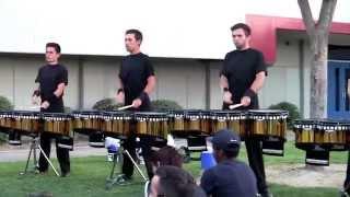 Blue Devils Drumline 2014 - Triplet Diddle