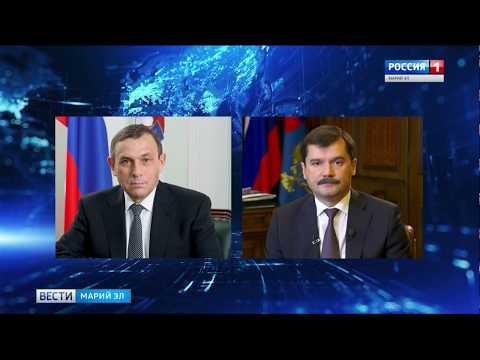 Смотреть Александр Евстифеев обсудил с главой Росавиации развитие аэропорта Йошкар-Олы онлайн
