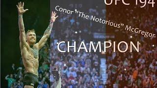 conor the notorious mcgregor jose aldo ufc 194 highlights