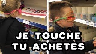 🙈 SHOPPING LES YEUX BANDÉS 🙈J'ACHÈTE TOUT CE QUE JE TOUCHE 🙈 #kidstudiotest