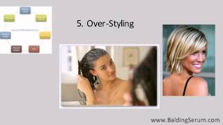 7 Reasons For Hair Loss/Thinning In Women - How To Grow Back Hair Fast