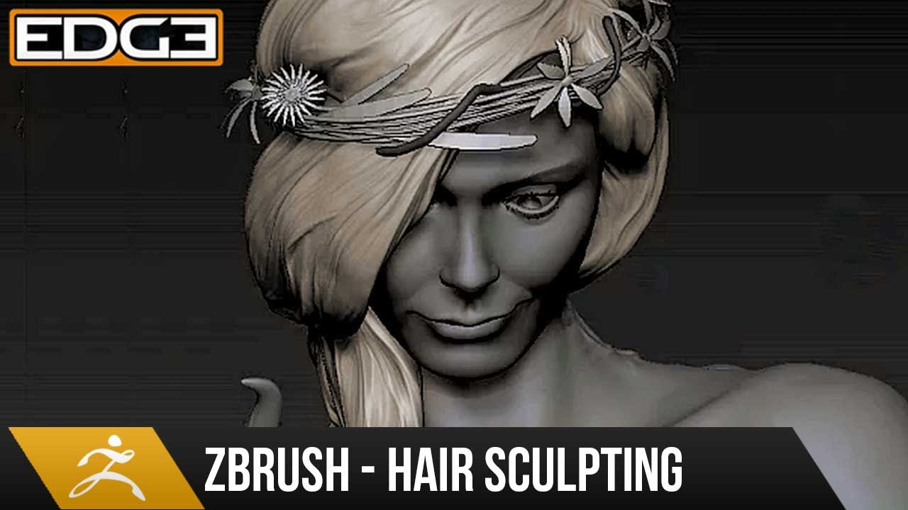 Sculpting Realistic Hairs in ZBrush Video Tutorial | CG Elves