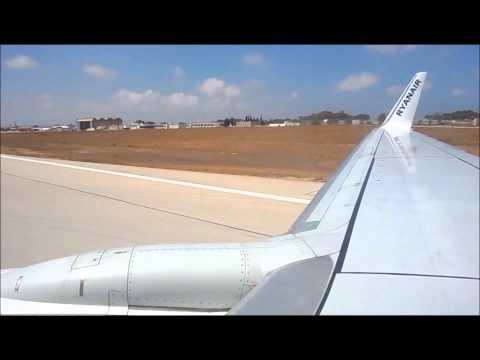 RYANAIR take off:Malta International airport (MLA)