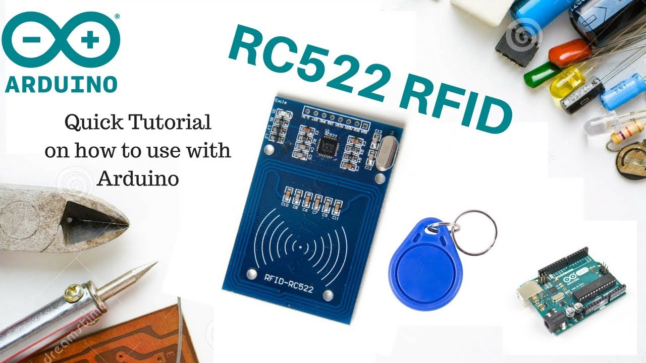 Quick guide to wire and use the RC522 RFID module with