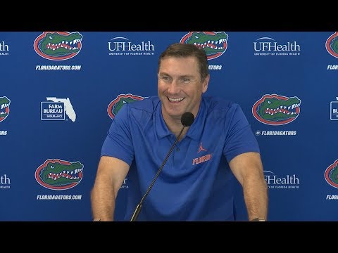 Florida Football: Dan Mullen Press Conference 9-24-18