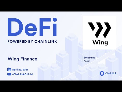 Chainlink Live | Wing Finance Video Q&A: Using Off-Chain Data for Blockchain Finance