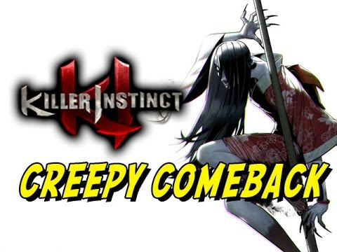 Hisako Creepy Comeback - Killer Instinct: Online Ranked