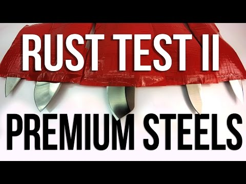 Ultimate Knife Rust Test 2   Blade HQ