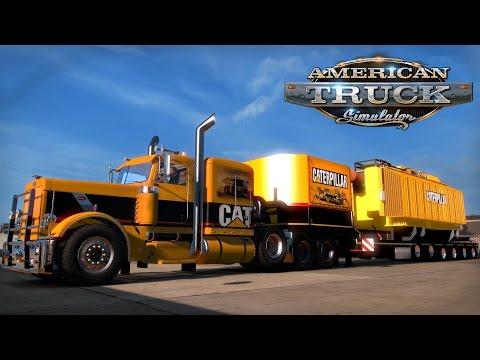 American Truck Simulator: Oversize CAT Transformer - Whitehorse to Anchorage Alaska