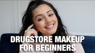 DRUGSTORE MAKEUP FOR BEGIΝNERS | KAUSHAL BEAUTY |