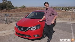 2016 Nissan Sentra SR Test Drive Video Review
