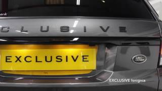 Land Rover Range Rover Sport Stealth Pack 2014 Videos