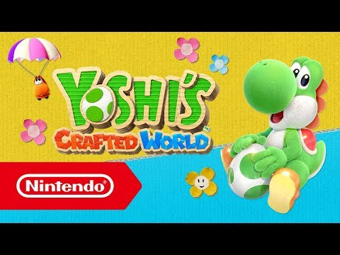 ¡Ya se puede descargar la versión de prueba gratuita de Yoshi's Crafted World! (Nintendo Switch)