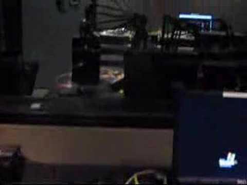 DJ3RDRAIL - WNUR 89.3 FM STUDIO's Tour