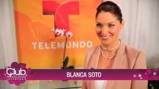 Blanca Soto en Club de Noveleras Telemundo - (Parte 1)