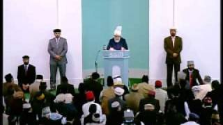 Friday Sermon: 23rd October 2009 - Part 2/6 (Urdu)