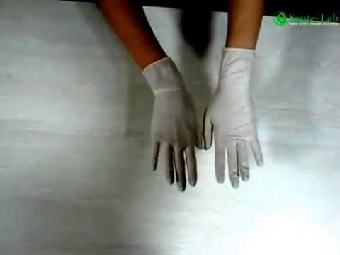 Как правильно одевать и снимать перчатки