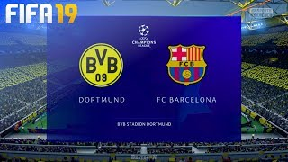 Check out this brand new fifa 19 gameplay of the champions league by beatdown gaming on ps4. in match borussia dortmund take fc barcelona at signal i...